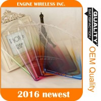 Rainbow Gradient TPU Ultra Soft Thin Clear Gel Case Skin Cover for iPad 2/3/4/ mini/Air2