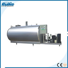 vertical milk directly cooling tank