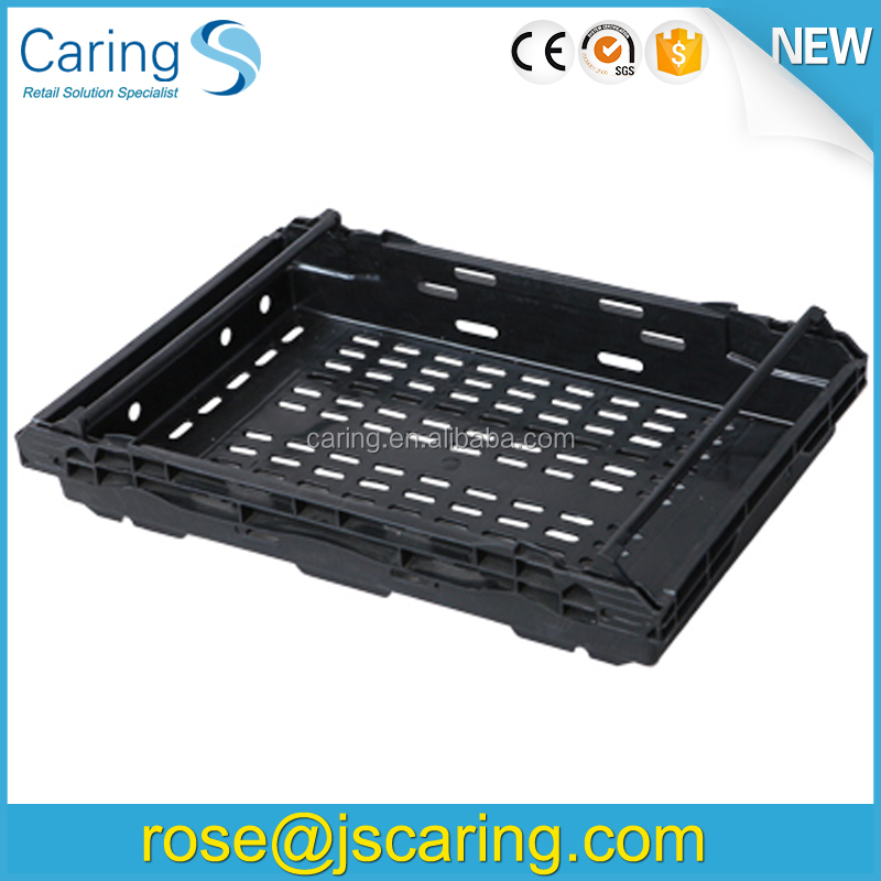 vegetables folding plastic crates