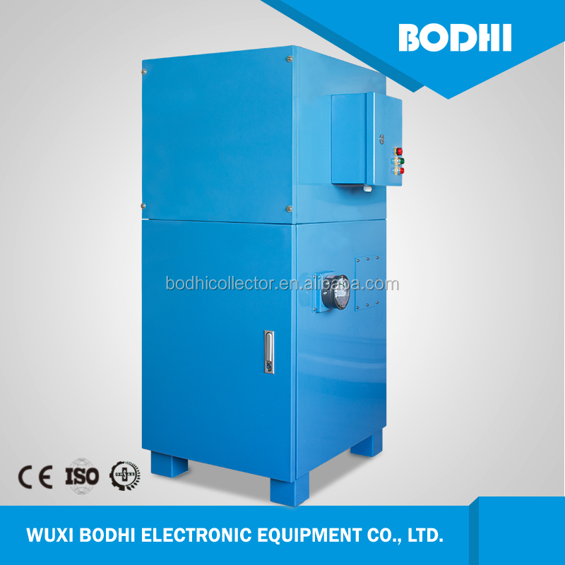 Cartridge fume extractor portable industrial dust collector