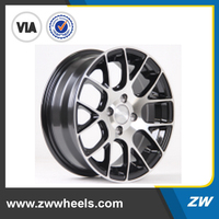 15 inches mag wheel red line alloy wheel with PCD 4X114.3 (ZW-X137)