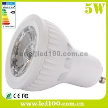 GU10 COB 5W LED Spotlight Dimmable