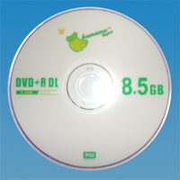 BANANA BLANK DVDR8X DL DVD+R 8.5GB Double Lay DISC