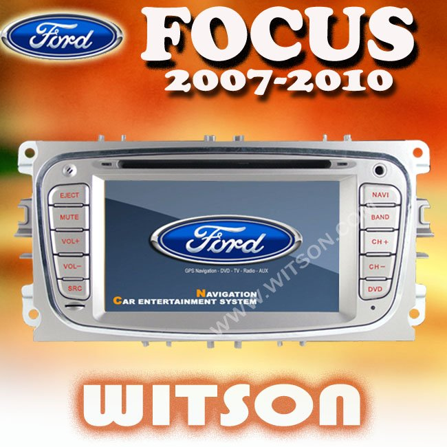 WITSON FORD FOCUS 2008-2010 CAR AUDIO SYSTEM with iPhone ready
