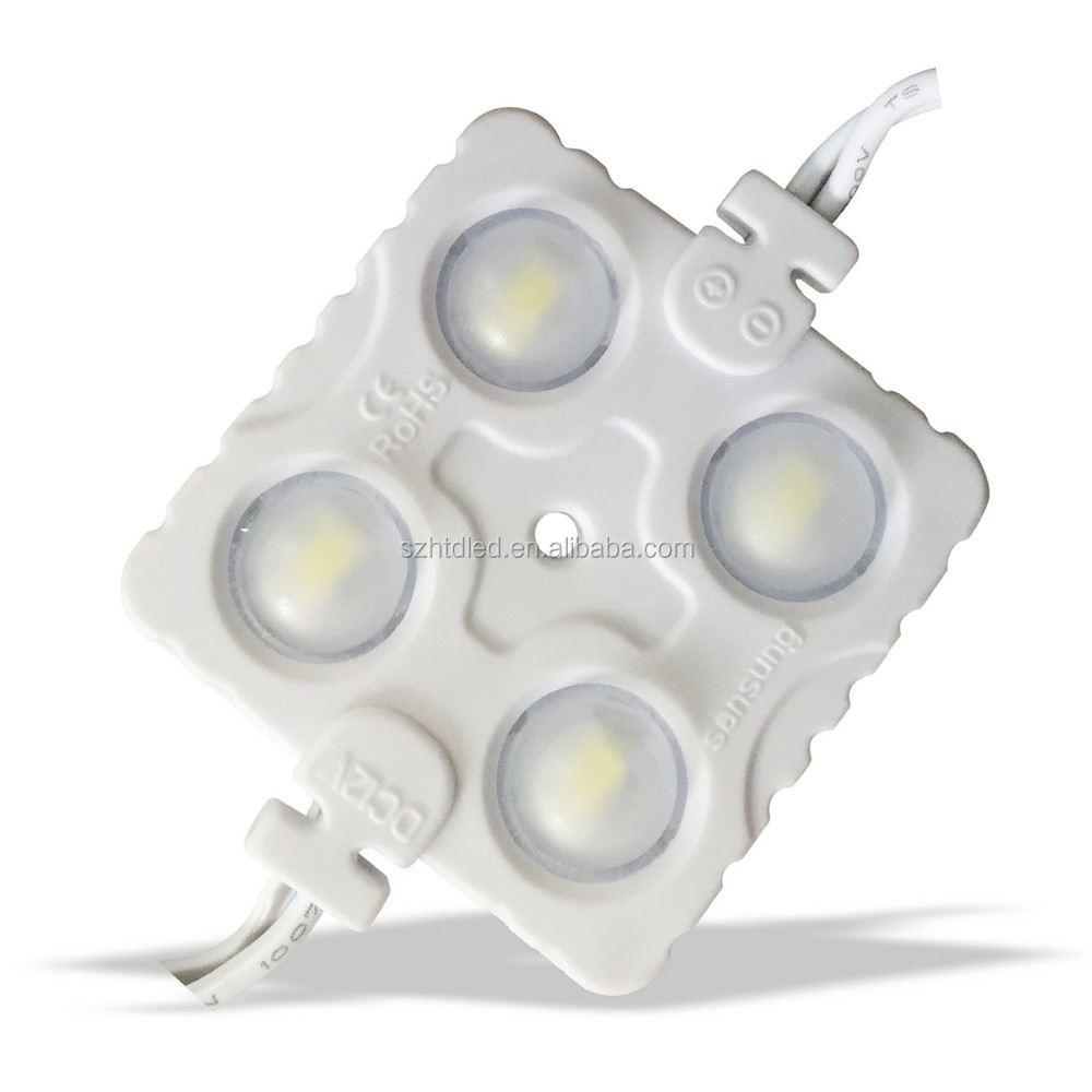 2016 hot sales Injection 4 smd 2835 cob led <strong>module</strong> for sign board