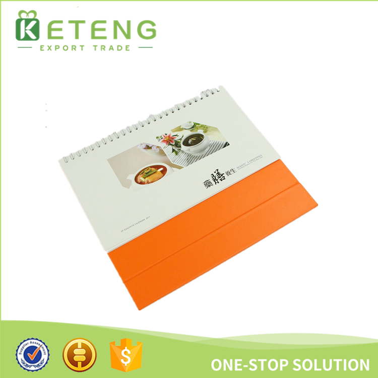 2020 custom printing Chinese full color printing table calendar