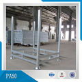 Warehouse Steel Wire Basket Foldable Pallet Cage