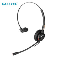 Adjustable Headband Call Center Telephone Headset with Noise Cancelling Microphone