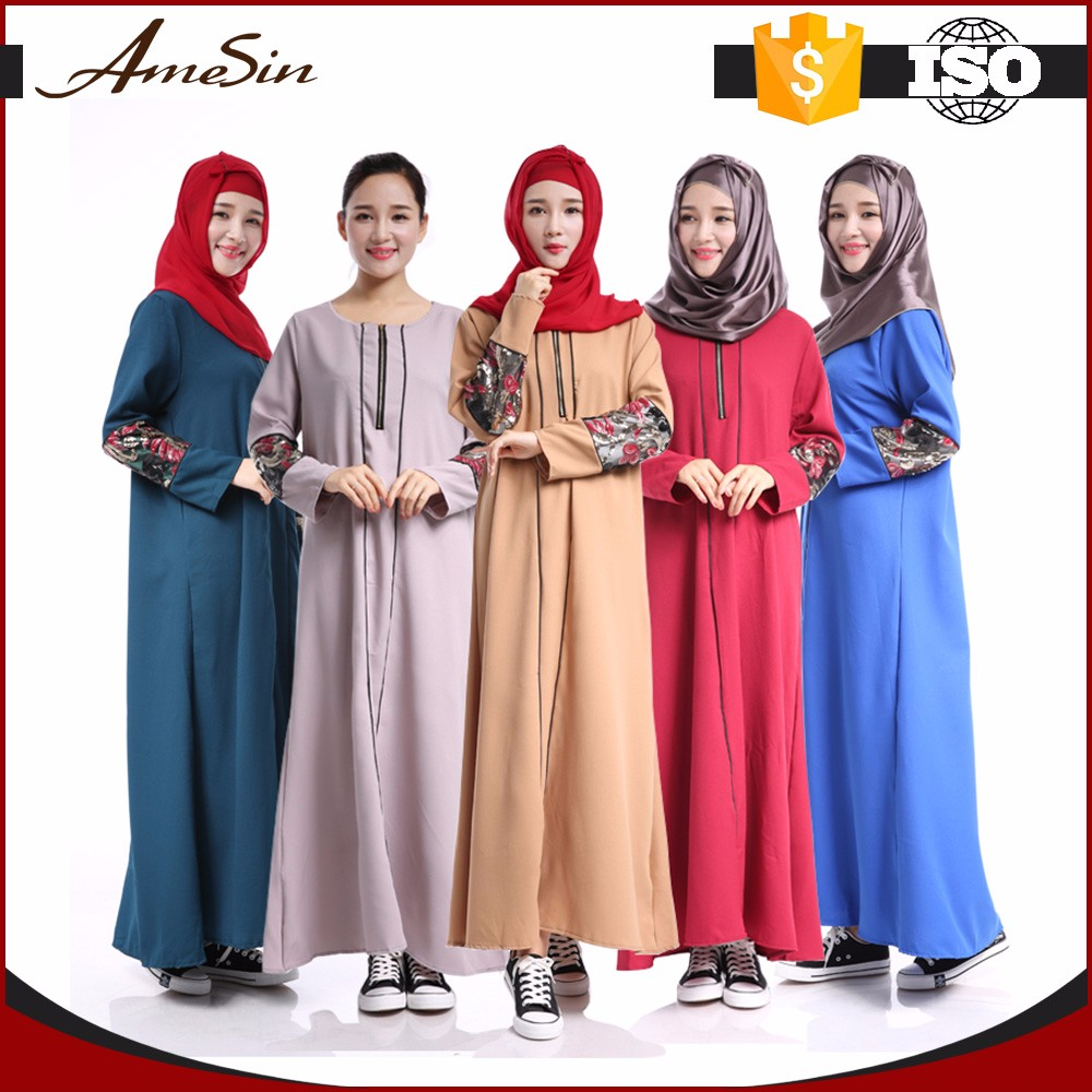 AMESIN china wholesale high quality new model abaya in dubai