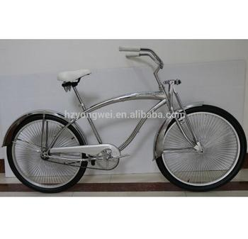 "26"" fuel tank model men's 6061 aluminum alloy beach cruiser bike"