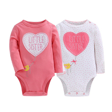 2017 Wholesale new born cotton fashion printing baby rompers / jumpsuit / bodysuit