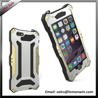 Aluminium alloy silicon gold Four-proofing casing for iphone5/5s 6/6s iphone6/6s plus