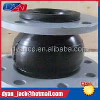 Carbon steel flange Eccentric reducing thread rubber joint for fire main