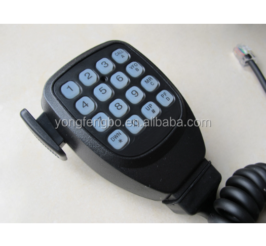 DTMF Microphone For Kenwood Mobile Radio TM-271A TM471A TM-261A TM-461A TK-7160 TK-8160 TK-7180 TK-7150 TK-868 TK-768