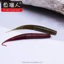 120mm fast sinking worm fishing lure plastic soft bait Chinese supplier