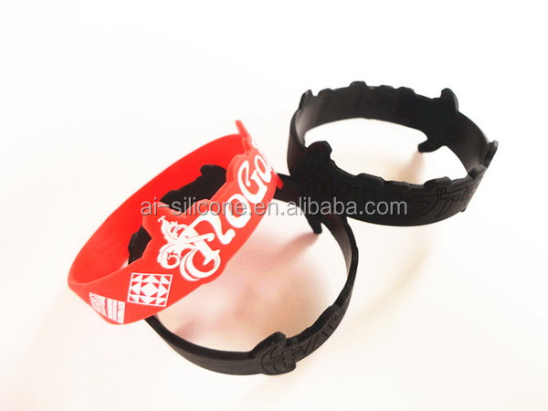 Promotional cheap free rubber band bracelet for promotional events