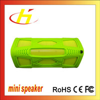2016 Excellent Waterproof High Quality Sport Plastic Silicone Bluetooth Speaker
