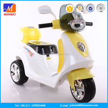 Factory wholesale two wheel motorcycle electric toy cars for kids to drive