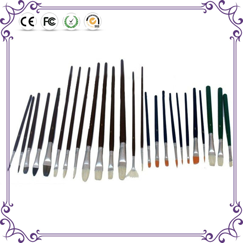 high quality watercolor brush wholesale acrylic paint brush set