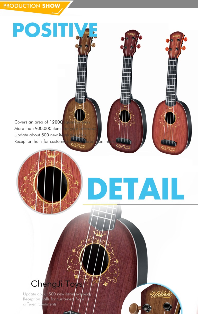 New low price musical instrument kids toy mini wooden guitar