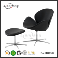 Modern chrome base swivel chair base parts