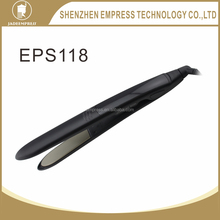 The best professional flat iron LCD ceramic hair straightener with wholesale price EPS118