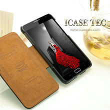 quantity production wallet cover for samsung galaxy note, smart cover for galaxy note, flip case for samsung galaxy note n7000