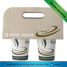 high quality coffee paper cup holder made in china