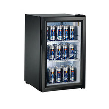 Canada Black Mini Bar Cooler Glass Door Used for Showcase