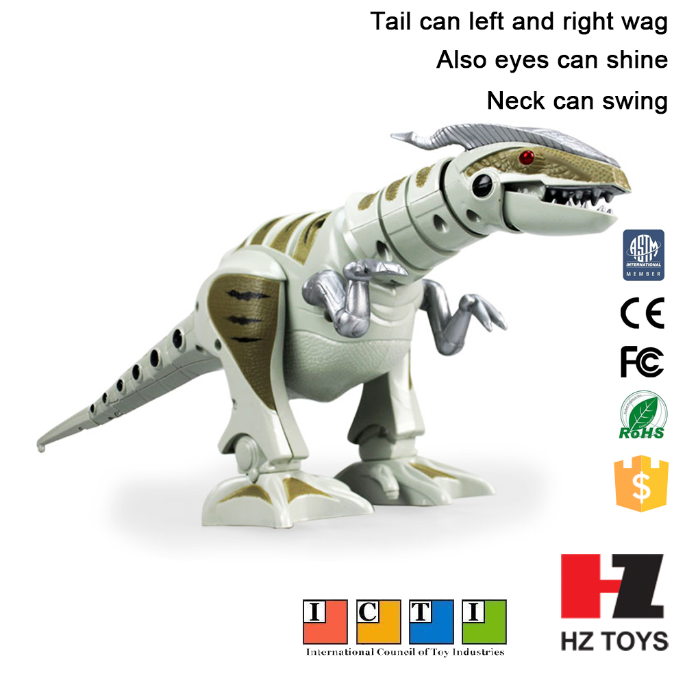 Toys to kids electronic real dinosaur robot toy with long battery life