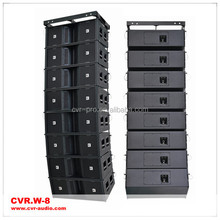 Three way + dual 12 inch + line array speaker box
