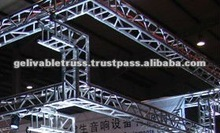 2012 hot sale Aluminum bolt truss dj lightng truss
