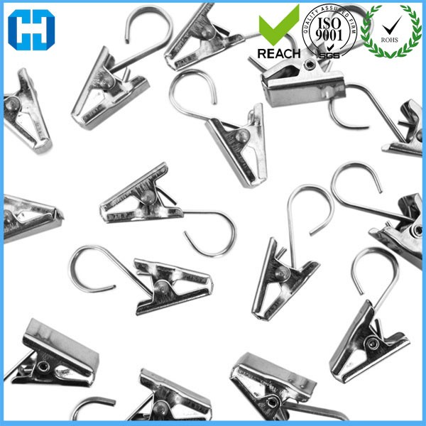Cheap Wholesale Home Office Metal Window Drapes Curtain Clips