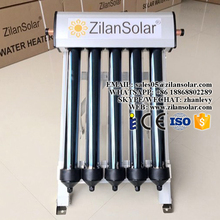 5tubes mini evacuated tube portable solar collector