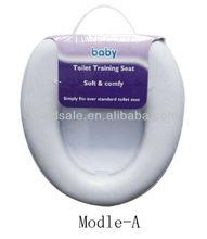 BABY Cushion Traveler Plastic Foldable PVC Soft Cover Toilet Seat