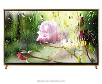 2017 New model extremely large screen 100inch Uhd led smart tv with ultra slim frame