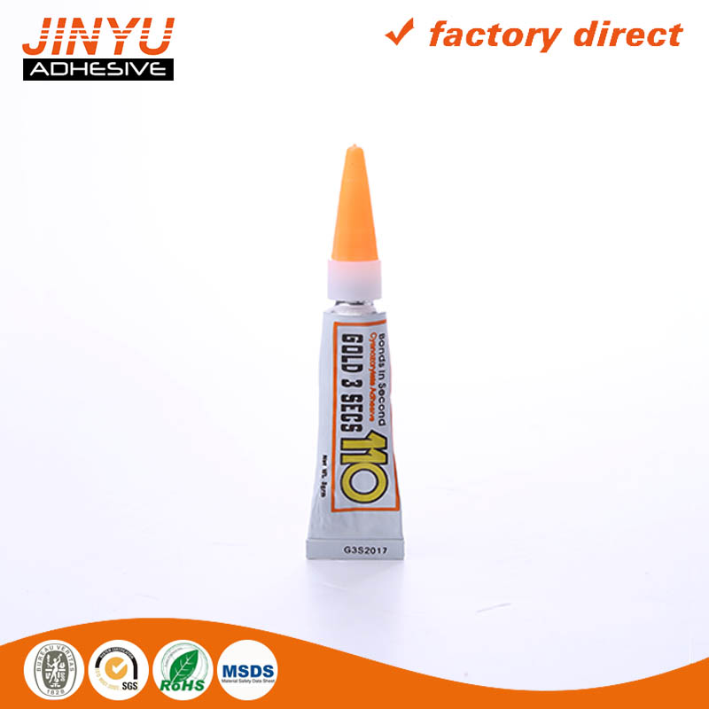 SGS Certification 3 seconds quick dry super glue 10g
