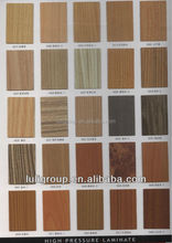 Glossy, Wood grain, Metal, Textured Surface Finishing Decorative High Pressure Laminates