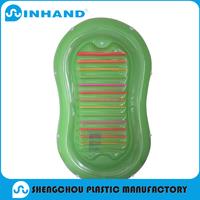 factory promotion EN71/ASTM approved PVC inflatable air mattress/kids mat