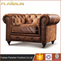 antique style Handmade leather furnitures LONDON CHESTERFIELD SOFA