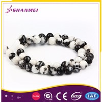 Artistic Zebra Jasper Bead Imitation Jewellery Making