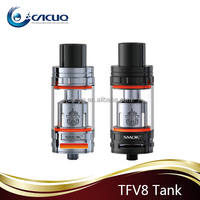 Fast shipping 510 Spring Loaded black 0.2ohm SMOK TFV8 5.5ml sub ohm atomizer