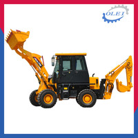 New design backhoe loader price