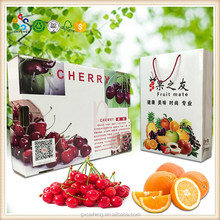 Custom High quality carton box Color empty Paper Color Fruit Box for packing