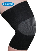 Hot selling brace for knee sprain bamboo fiber knee support adjust knee sleeve with low price