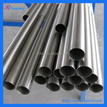Baoji Tianbang Manufacturers Low Price ASTM B658 R60702 OD.57mm X THK 3mm Pure Zirconium Tube In Stock For Hot Sale