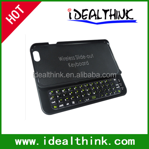 Sliding Bluetooth Wireless Keyboard Case For Apple iPhone 6 4.7""