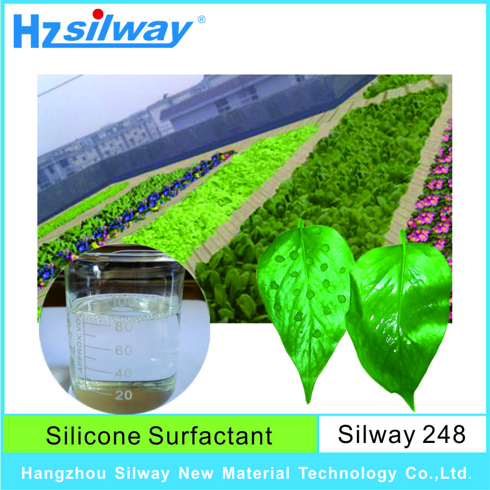 silway 248 polyether modified silicone oil turfgrass wetting dew contral for sale