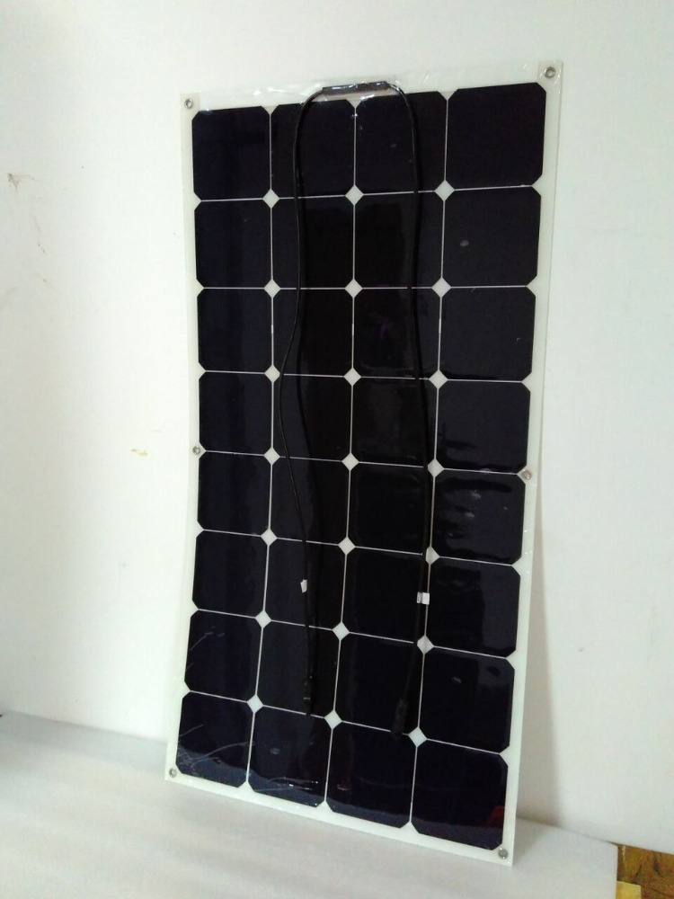 Flexible pv solar panel 100w 120W 150w 200w 250w 300w 18v 36v with CE certification