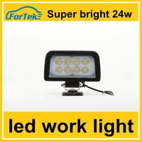 Super bright 24w 3x5 square led headlight